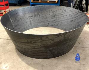 carpintería de acero o hierro