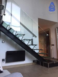 escaleras metálicas en carpinteria metálica santiago