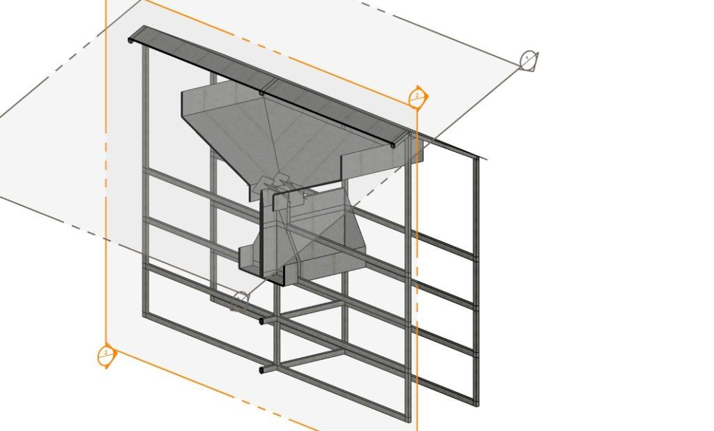 Diseño en carpintería metálica en Santiago 77