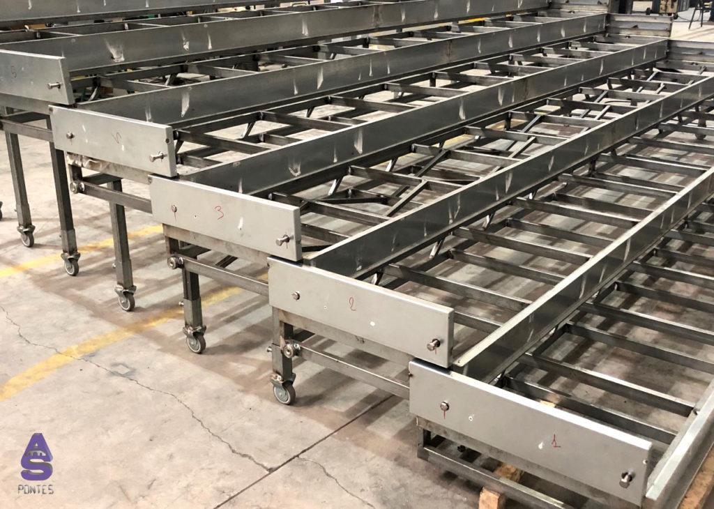 escaleras telescópicas carpintería metálica en santiago