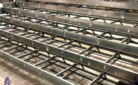 escaleras telescópicas carpintería metálica as pontes