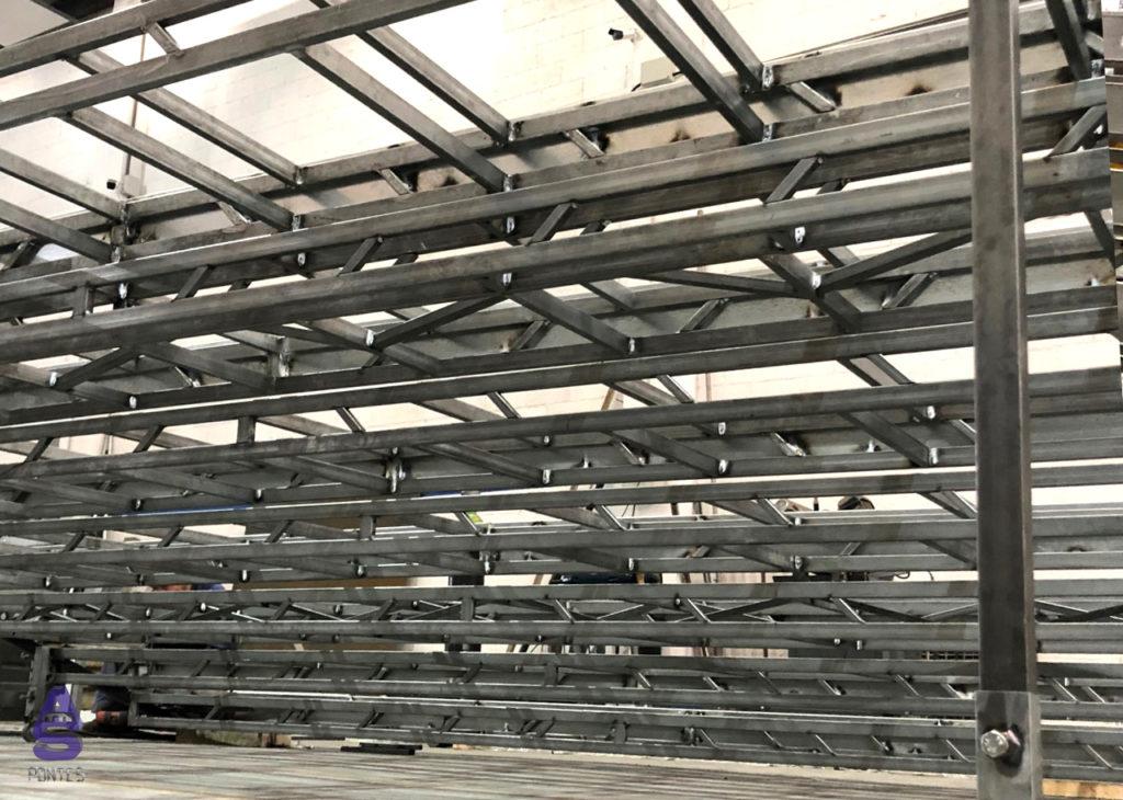 escaleras telescópicas carpintería metálica en santiago 2